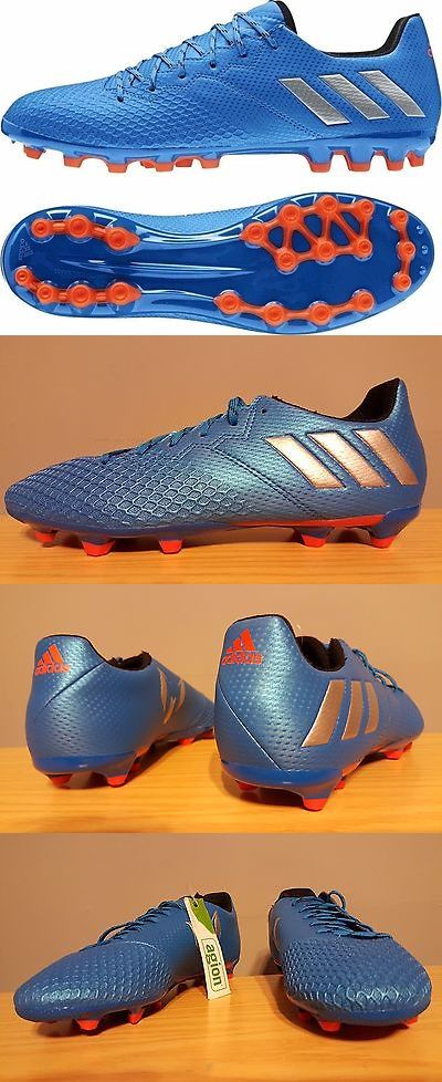 a7f012b0d Youth 159177  New Youth Adidas Performance Messi 16.3 Fg Sz 3.5 Blue Red  Silver Soccer