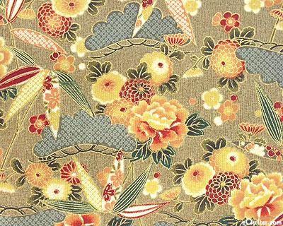 Asian Fabric Patterns