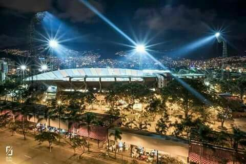 Estadio Atanasio Girardot.