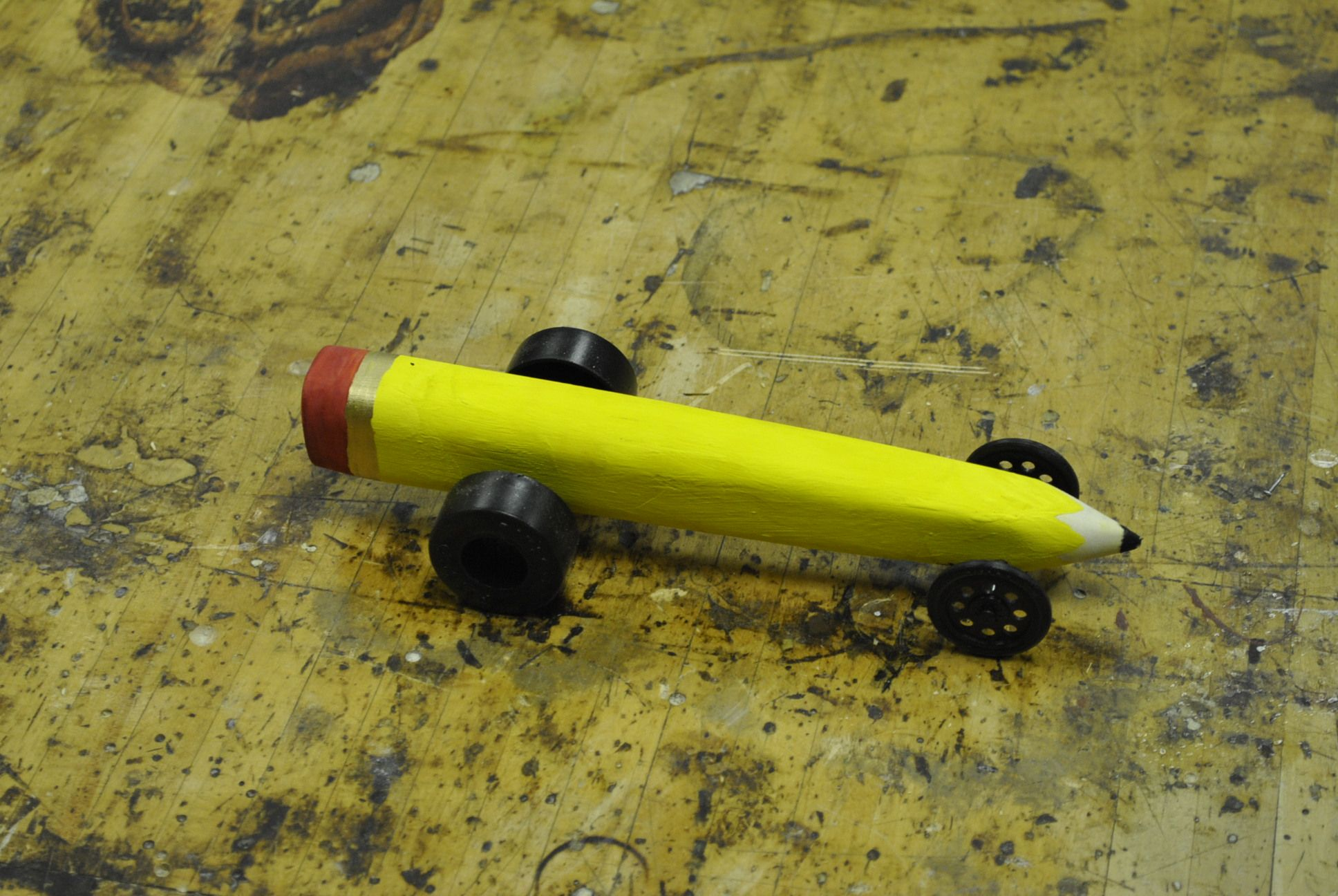 Co2 Car Pencil Wood Projects Co2 Cars Wood