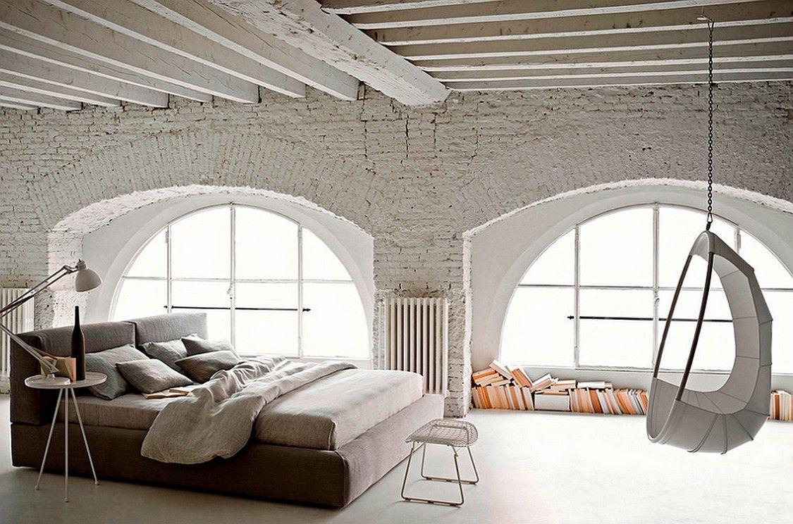 27 MODERN INDUSTRIAL BEDROOM DESIGN INSPIRATIONS