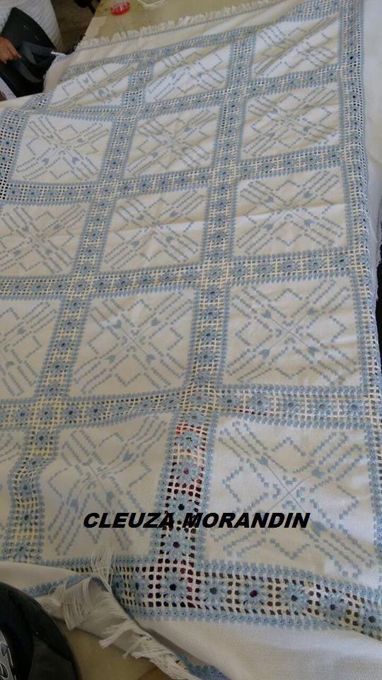 Bordado confeccionado por Cleuza Morandin https://www.facebook.com/profile.php?id=100011004401091&fref=ts