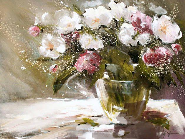 Blumen in Vase, Gerd Pflumm (von Atelier Pflumm)