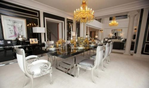 Expensive Dining Rooms Expensive Dining Room Luxury Homes Dream Houses Luxury Decor Living Room Furniture