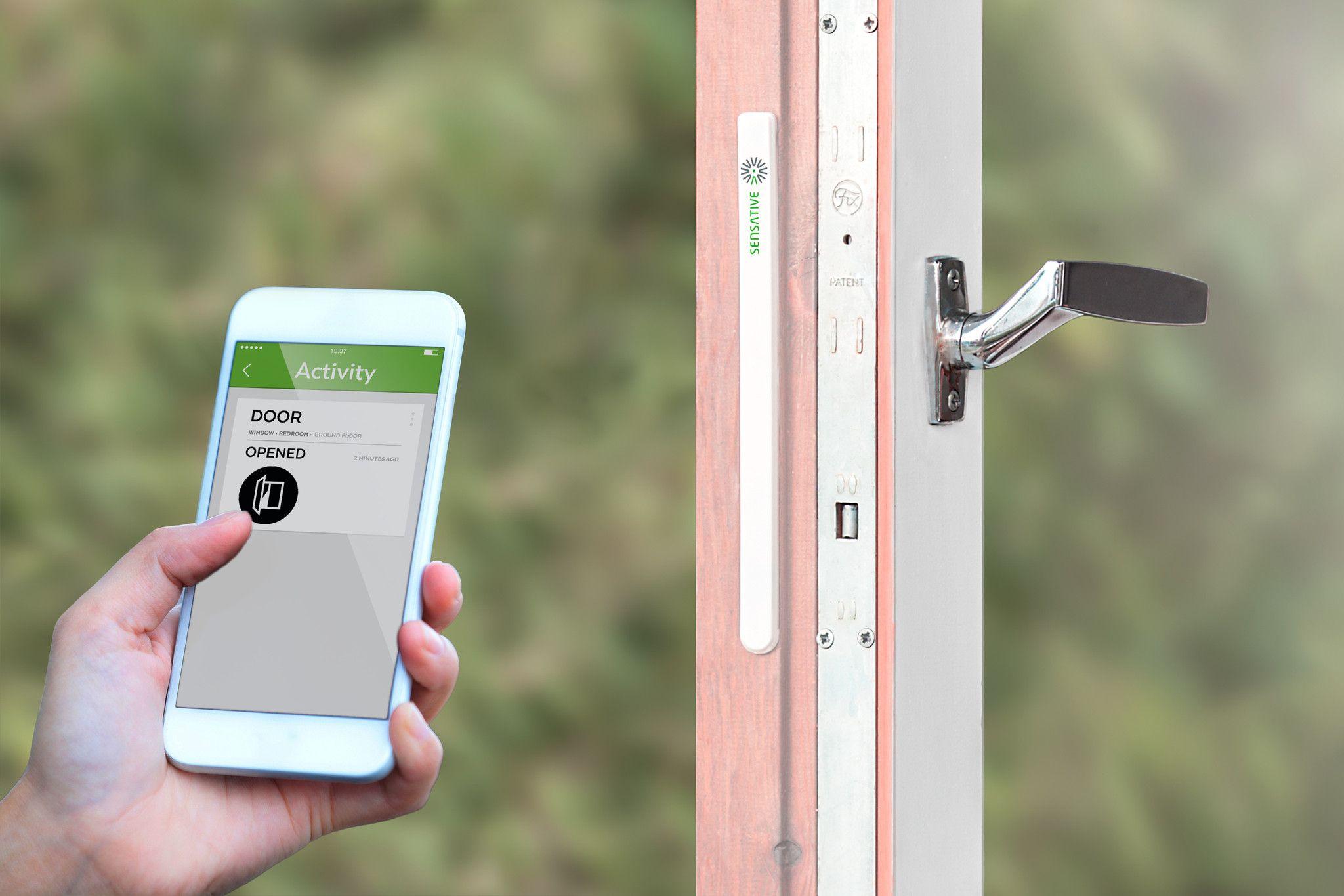 Sensative Z Wave Plus Strips Invisible Door Window Sensor