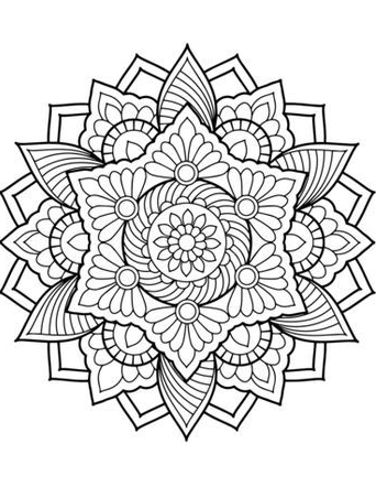 Coloring Mandalas Mandala Coloring Pages Coloring Book Pages Printable Coloring Book