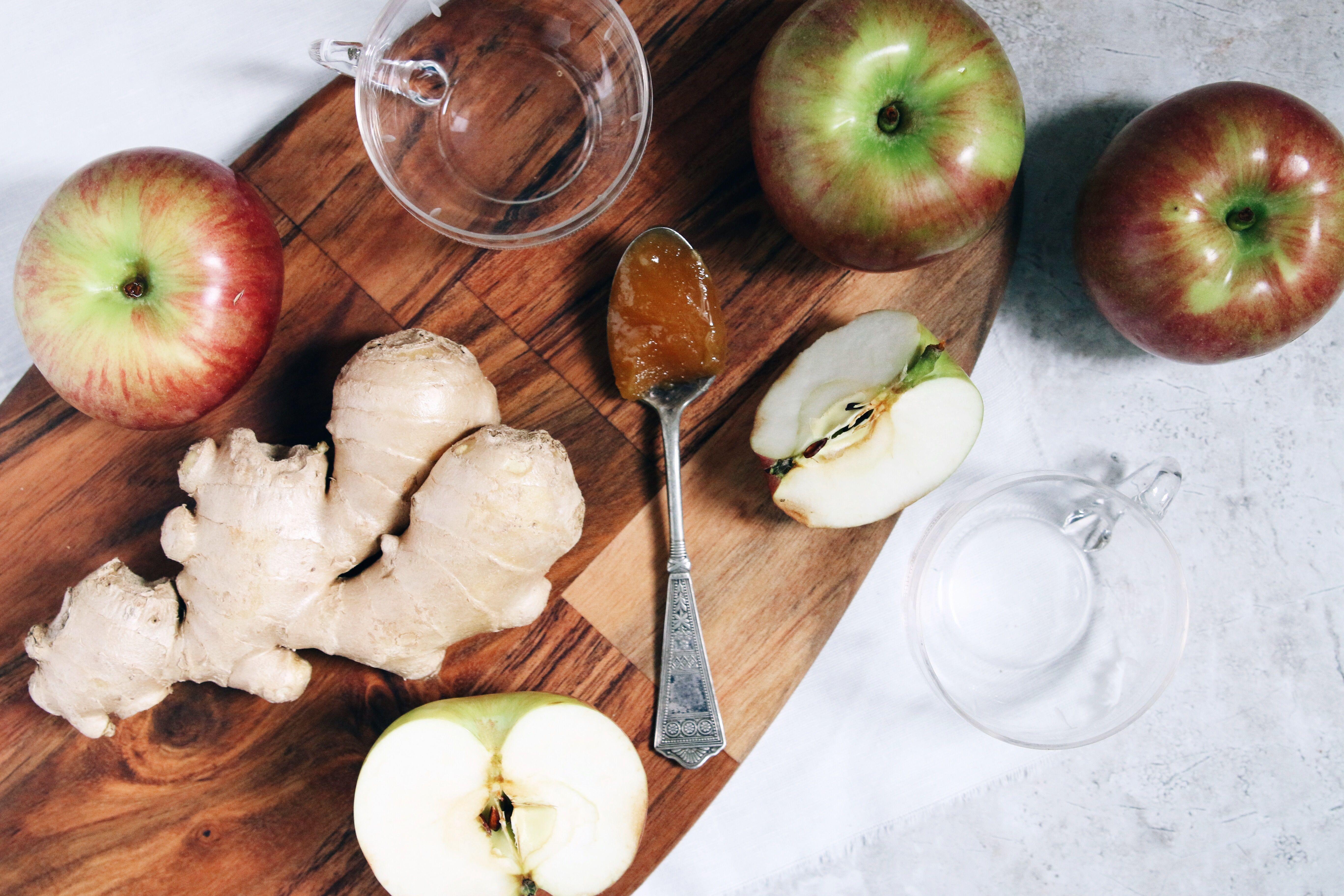 Drink: Apple Ginger Honey Spritzer – Free People Blog | Free People Blog #freepeople