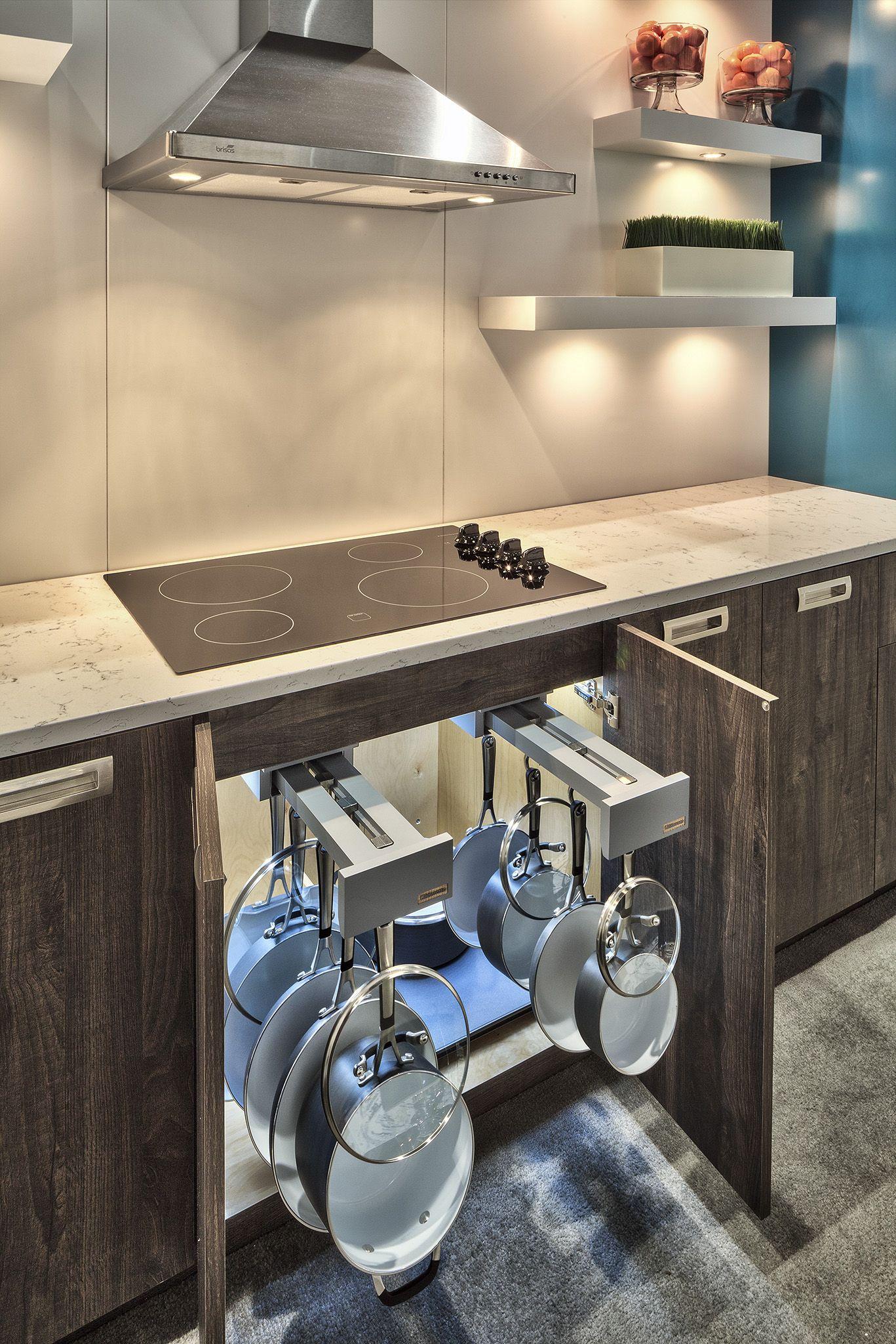 Cabico Custom Cabinetry With Glideware Storage Solutions Teal Wardrobe Door Profile 8 Espresso Kitchen Cabinets Interior Design Living Room Espresso Kitchen
