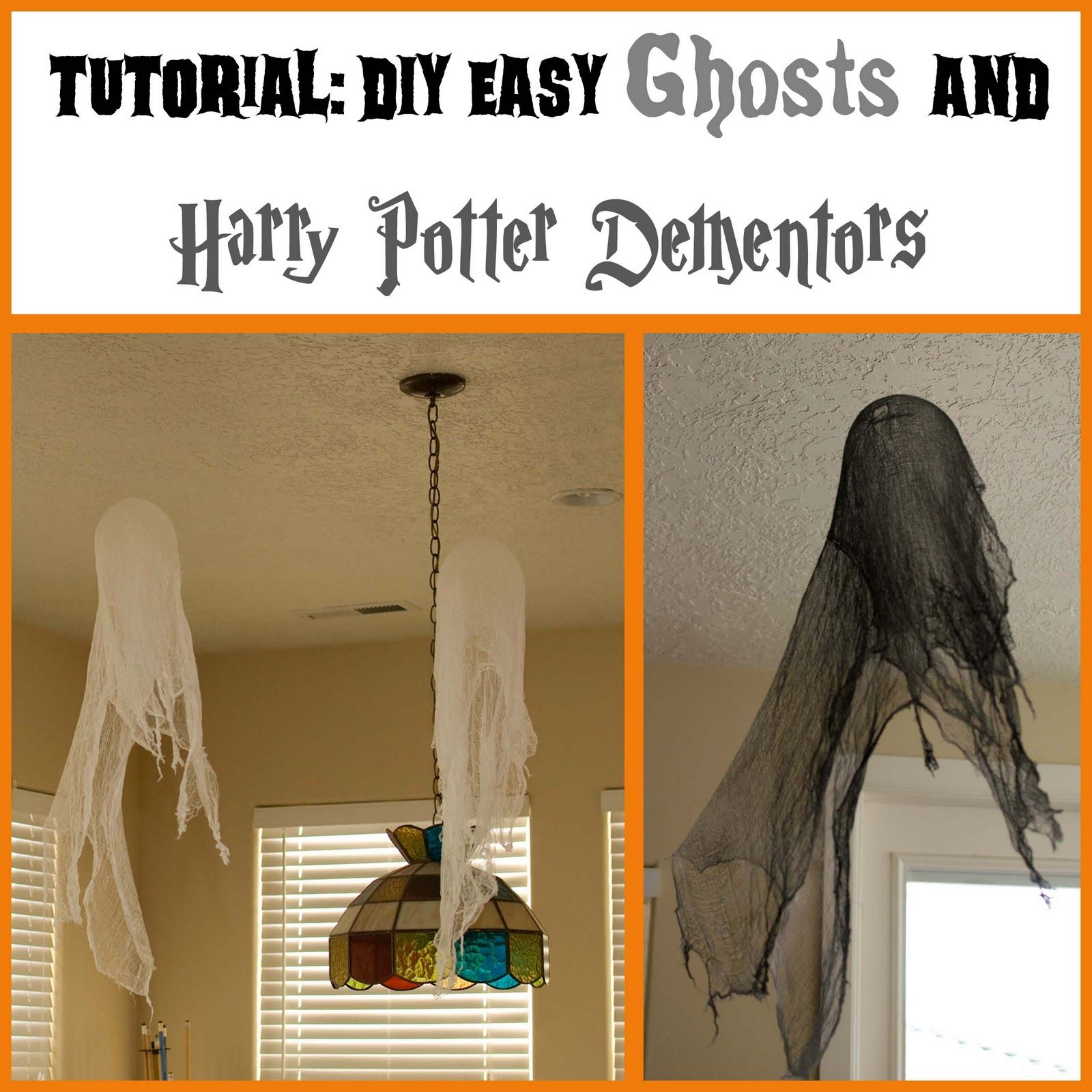 Homemade halloween decorations for kids - Halloween Crafts