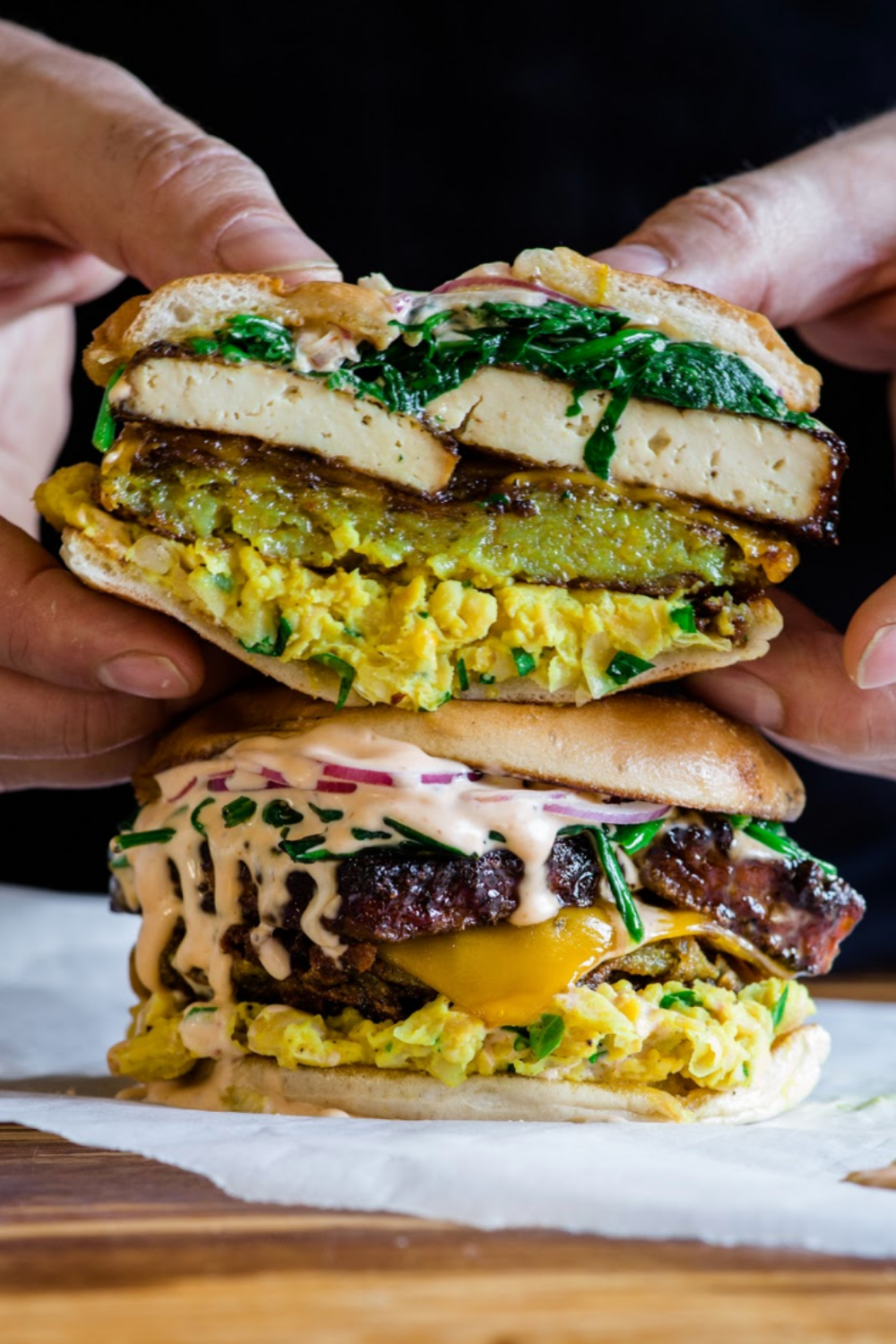 Photo of WICKED VEGAN BREAKFAST SANDWICH