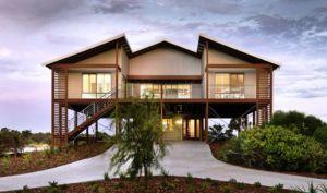 Architecture And Design Australian Architecture Part 2 Beach House Design House On Stilts Facade House
