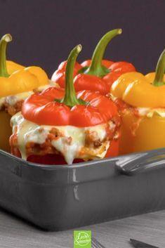 Photo of Mini lasagna in peppers