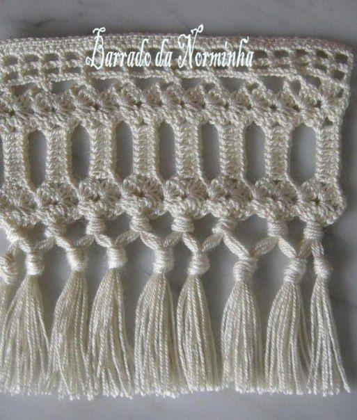 Delicadezas en crochet Gabriela: Galón decorativo | Entre hilos ...