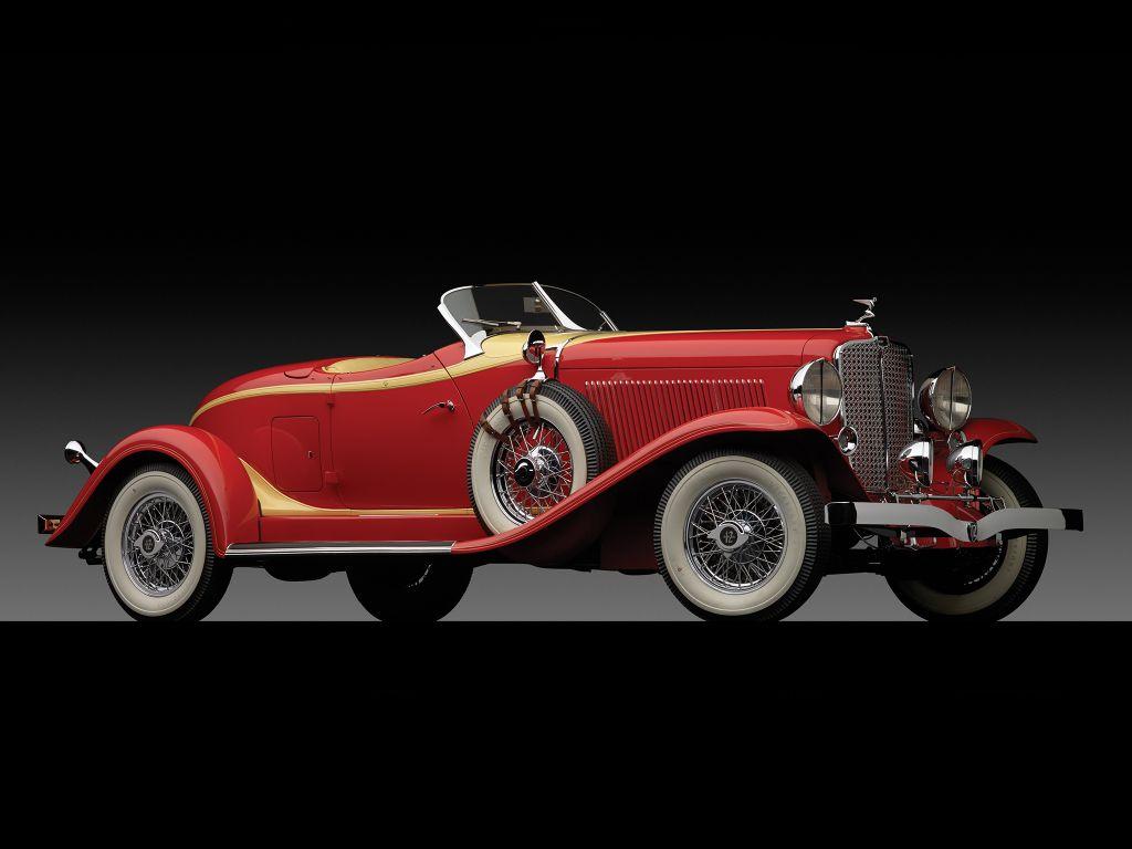 Auburn V12 161A Custom Boattail Speedster '1933