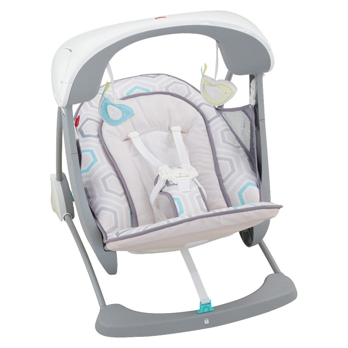 Fill blank? Fisher price swinging bassinet consider