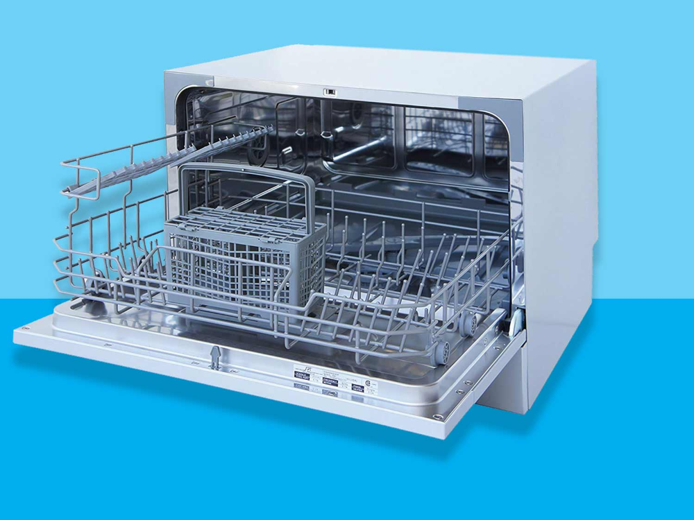 Transform Your Small Crappy Apartment With A Countertop Dishwasher Countertop Dishwasher Countertops Small Dishwasher
