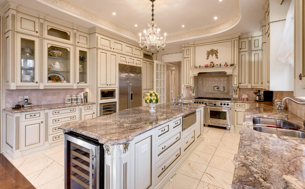 This Mansion Is Located At 36 Thornbank Road In Vaughan Ontario Canada And Is Situated On 2 3 Of An Acre Luxury Kitchen Modern Luxury Kitchen Luxury Kitchens