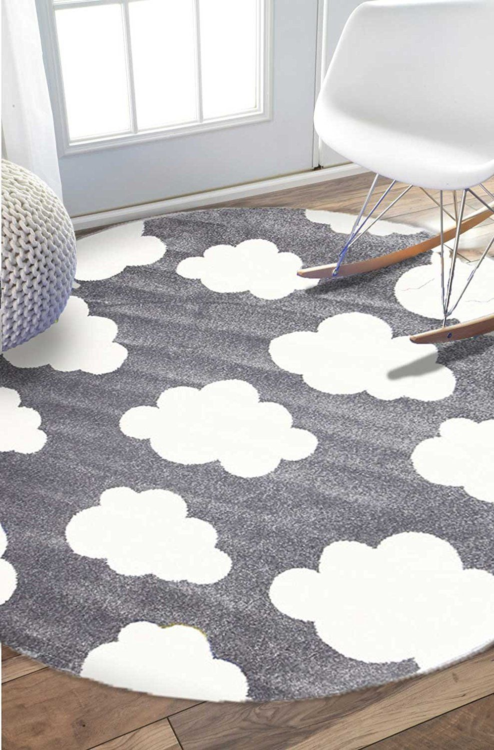 Bambino round modern cloud rugs bambino modern round rugs are filled with trendy contemporary designs