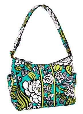 vera bradley on the go in island bloom