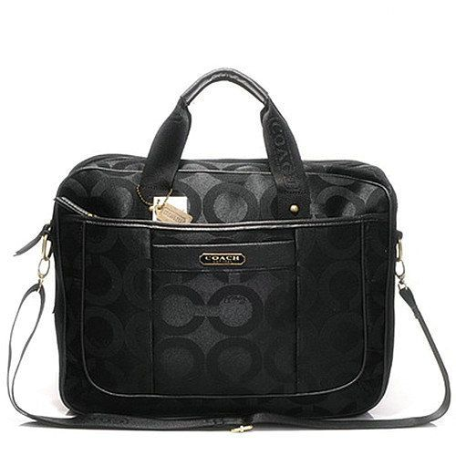 0ad31228e2 Coach In Monogram Large Black Business bag DHI