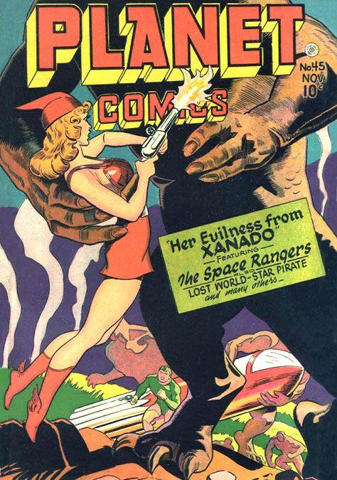 Joseph Doolin | Spacy, Spicy, Pinups, Pulp | Planet comics