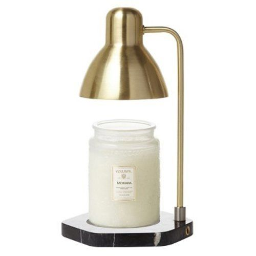 Fluto Candle Warmer Lamp Light Control Marble Gold Black Want Additional Info Click On The Image Candl Diy Crafts White And Gold Decor Candle Warmer