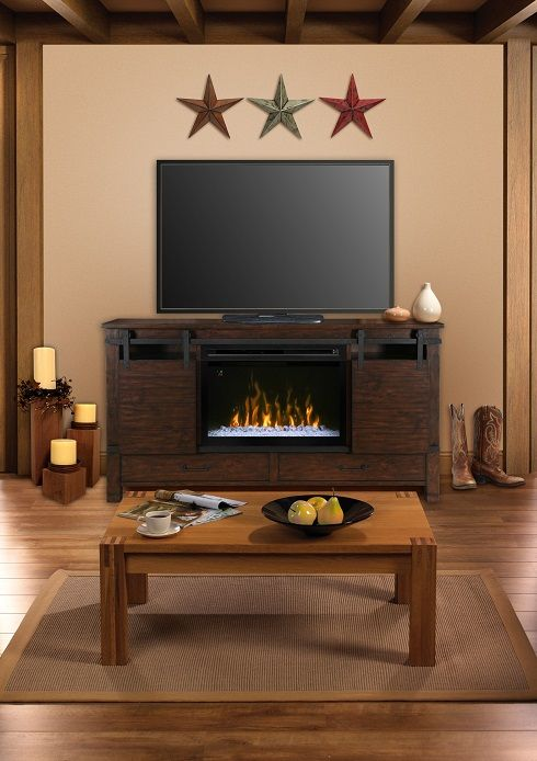 Dimplex Austin Media Cabinet With 33 Quot Multifire Electric