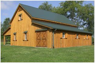 Customers' Pole Barns and Country Garages –  Architect Don Berg's simple pole-ba… - myoyun.org/home #polebarnhomes
