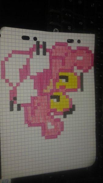 La Panth 232 Re Rose Pixel Art Pinterest Perler Beads