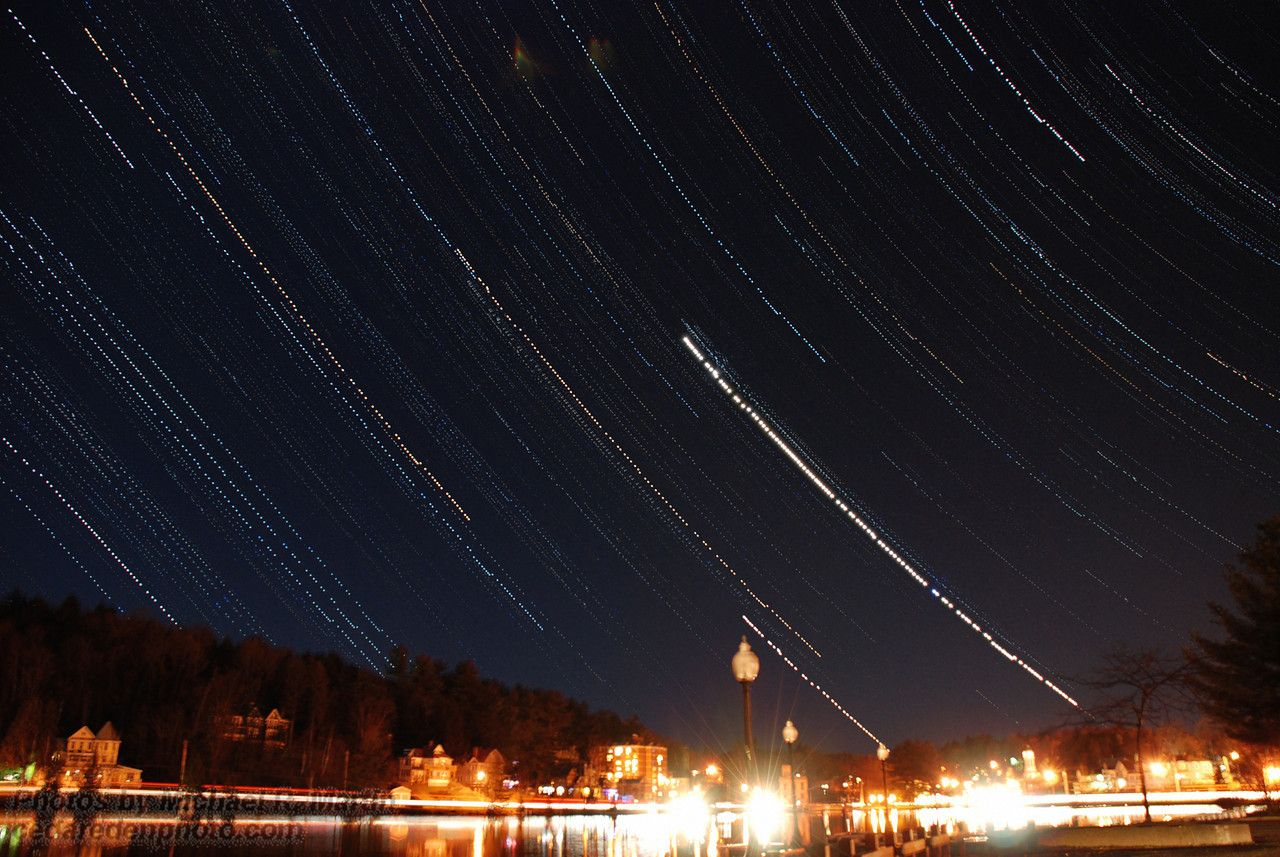 Northern Lights & Other Night Shots - Cedar Eden Photo Gallery by Michael R. Martin, CLM • cedaredenphoto.com