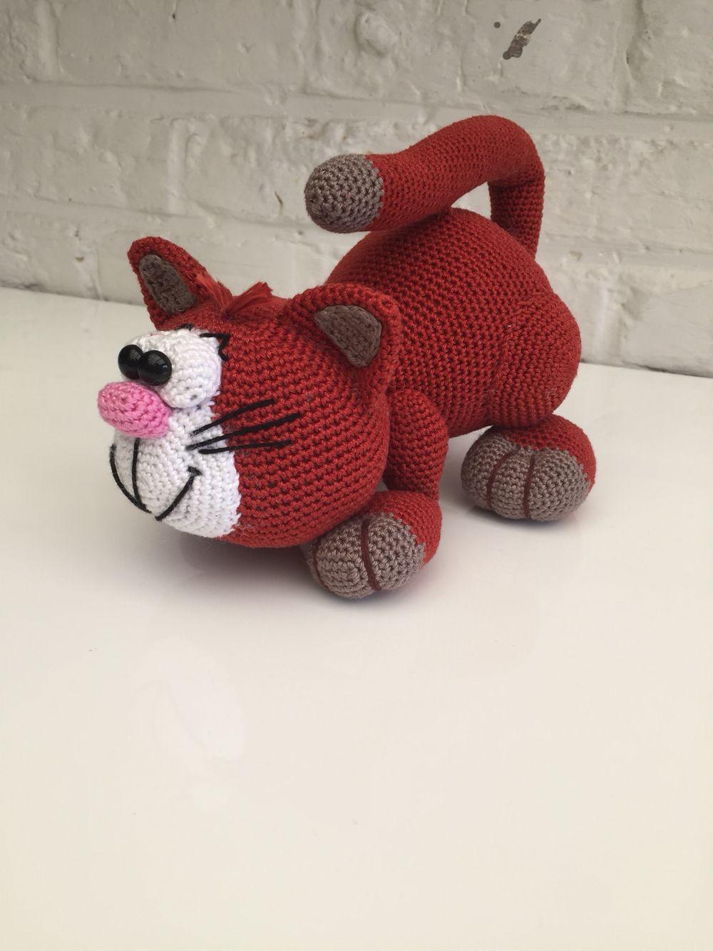 Ondeugende kat Mala designs   muñecos tejidos   Pinterest   Chal de ...