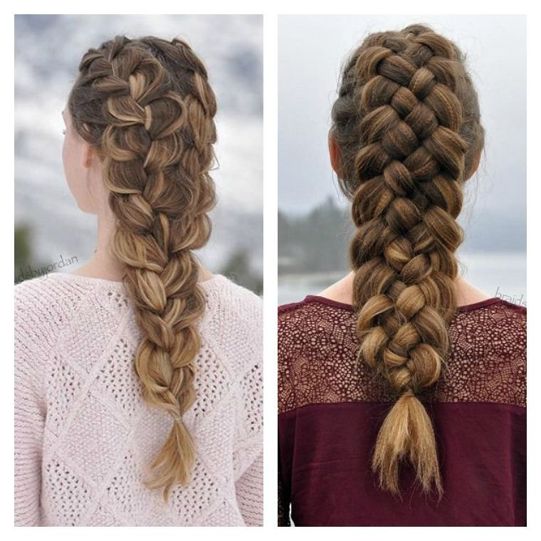 Los Mejores Peinados Fcil Peinado De Trenza Para Mujer Y Nia Los - Peinados-de-nia