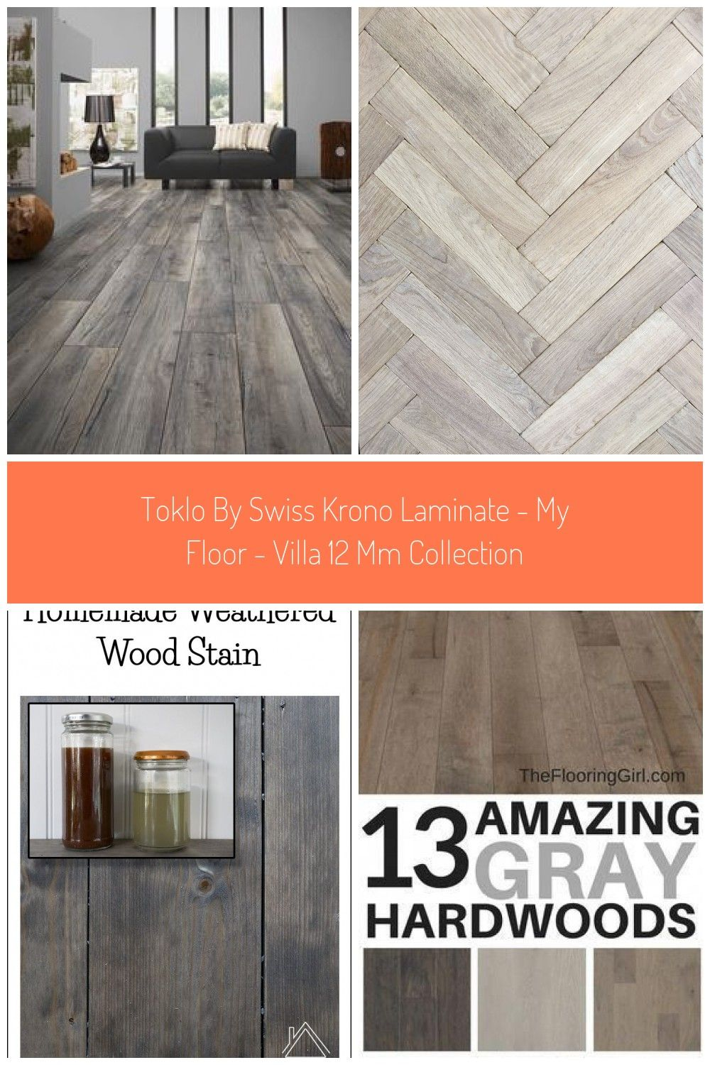 Toklo By Swiss Krono Laminate My Floor Villa 12 Mm Collection Grey Hardwood Floors Grey Stained Wood