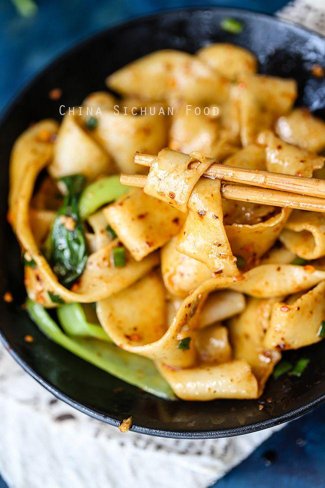 Biang Biang Mian | Rezept | asiatische Küche, Asiatisch und Asien