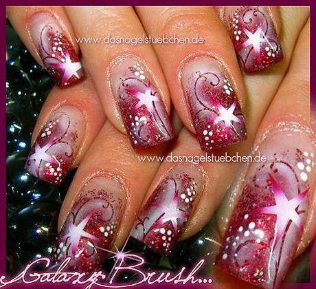 Gelnägel Weihnachten Bilder.Gelnägel Muster Weihnachten Nägel Nägel Airbrush Nägel Und Gelnägel