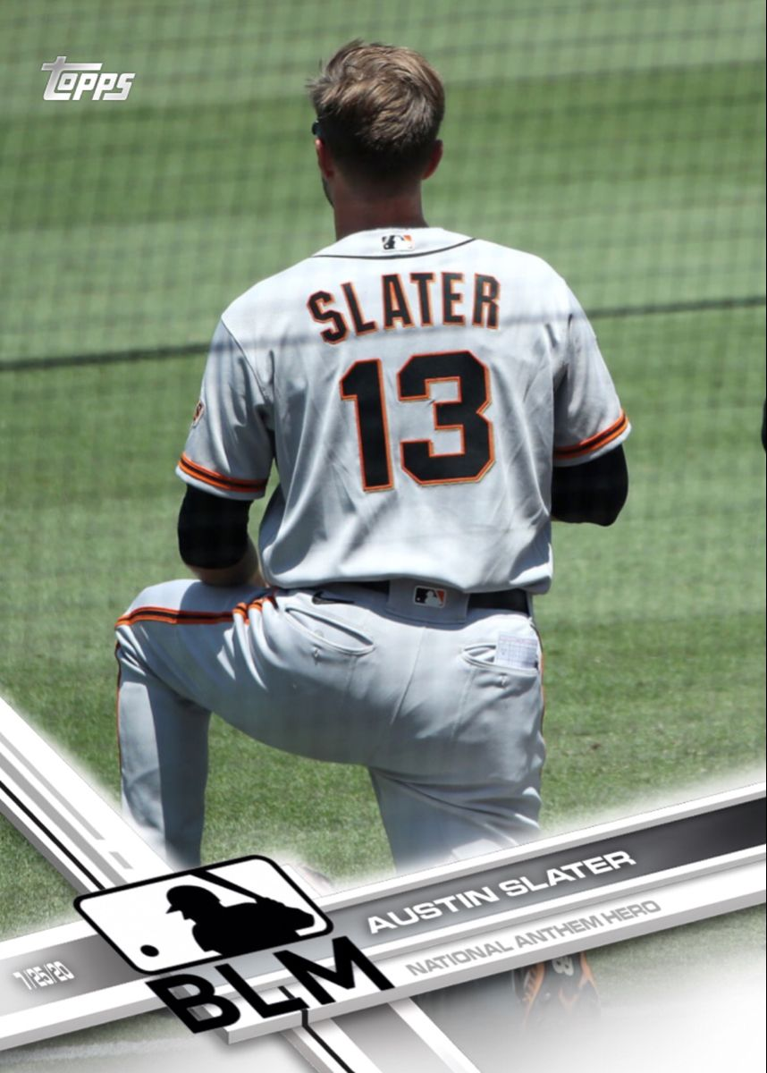 Austin Slater San Francisco Giants In 2020 Mlb Nationals Kaepernick San Francisco Giants