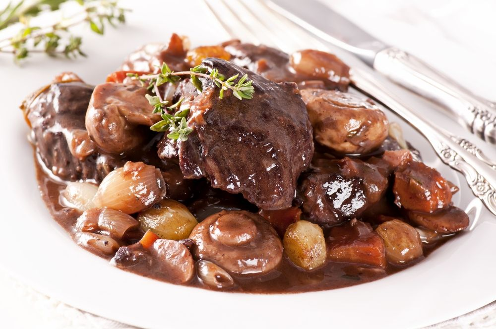 Anthony Bourdain S Boeuf Bourguignon Recipe Beef Bourguignon Food Beef Short Rib Recipes
