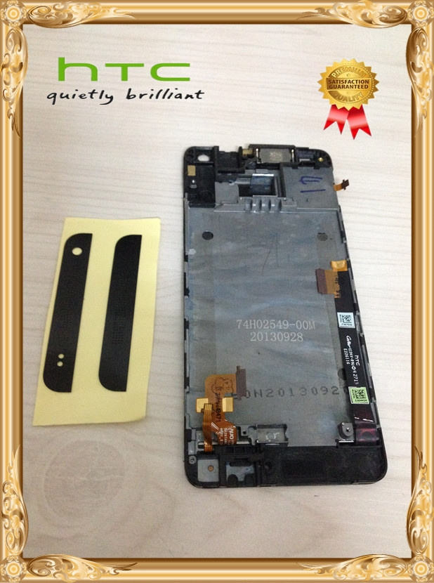 19.33$  Buy now - http://alih8p.shopchina.info/go.php?t=32806830574 - Original LCD Display+Touch Screen Digitizer+Frame FOR HTC One Mini M4 601e  Black Free shipping   #aliexpresschina