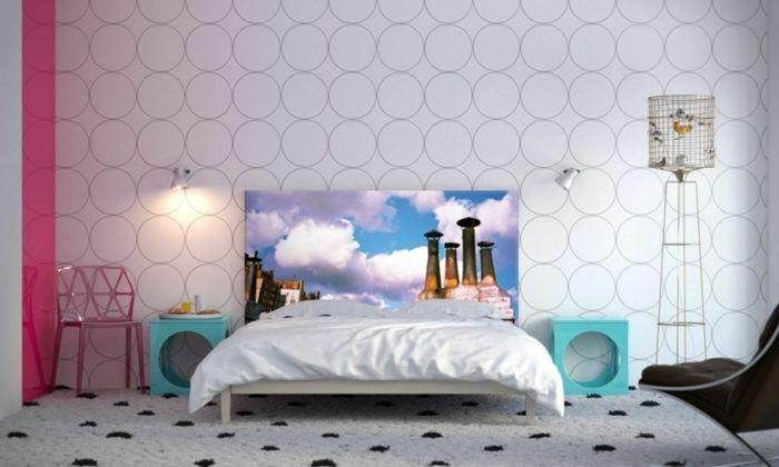 Schlafzimmer Tapeten Ideen U2013 Wie Wandtapeten Den Schlafzimmer Look  Beeinflussen #Schlafzimmer #Tapeten #