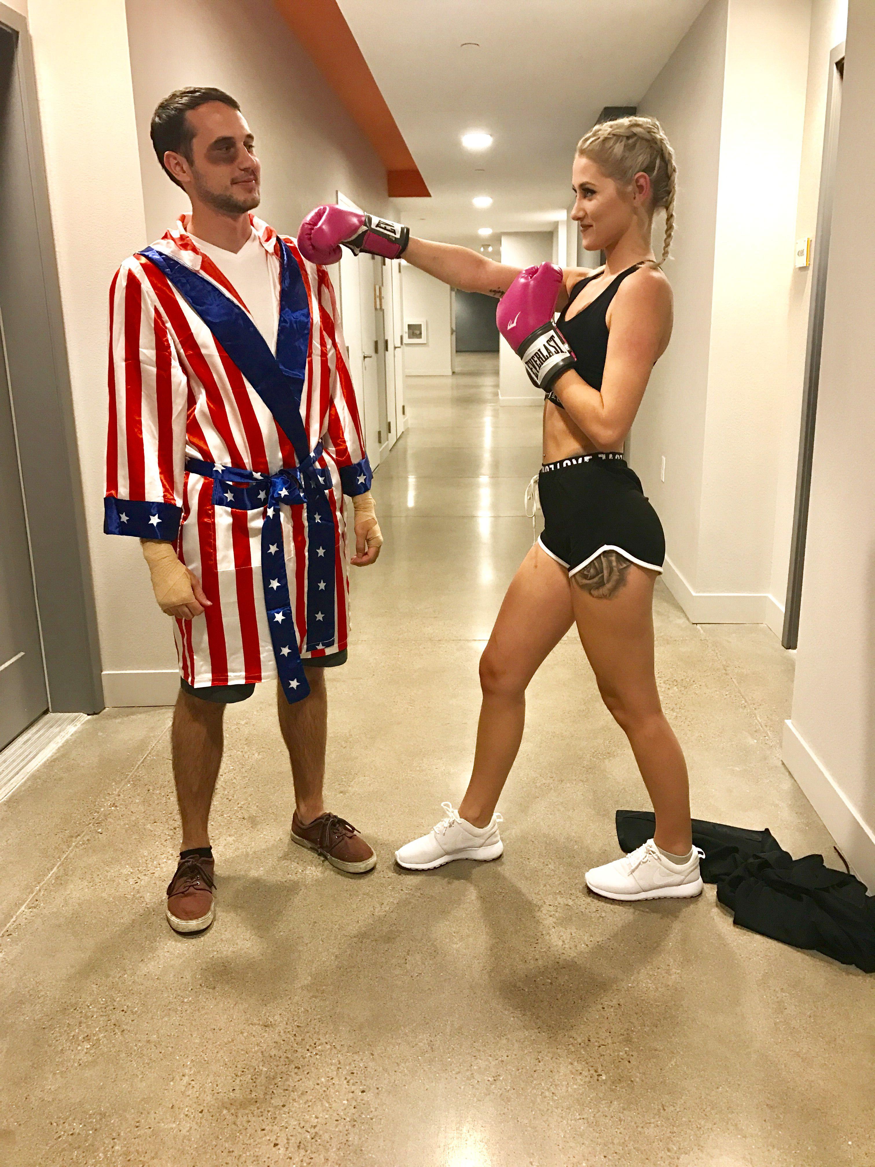 Halloween 2019 Costume Ideas Couples.Halloween Boxer Couple Costume Halloween Couples