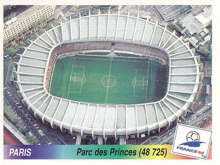 Parc Des Princes Paris A Stadium Used At The 1998 World Cup Finals 1998 World Cup Parc Des Princes World Cup