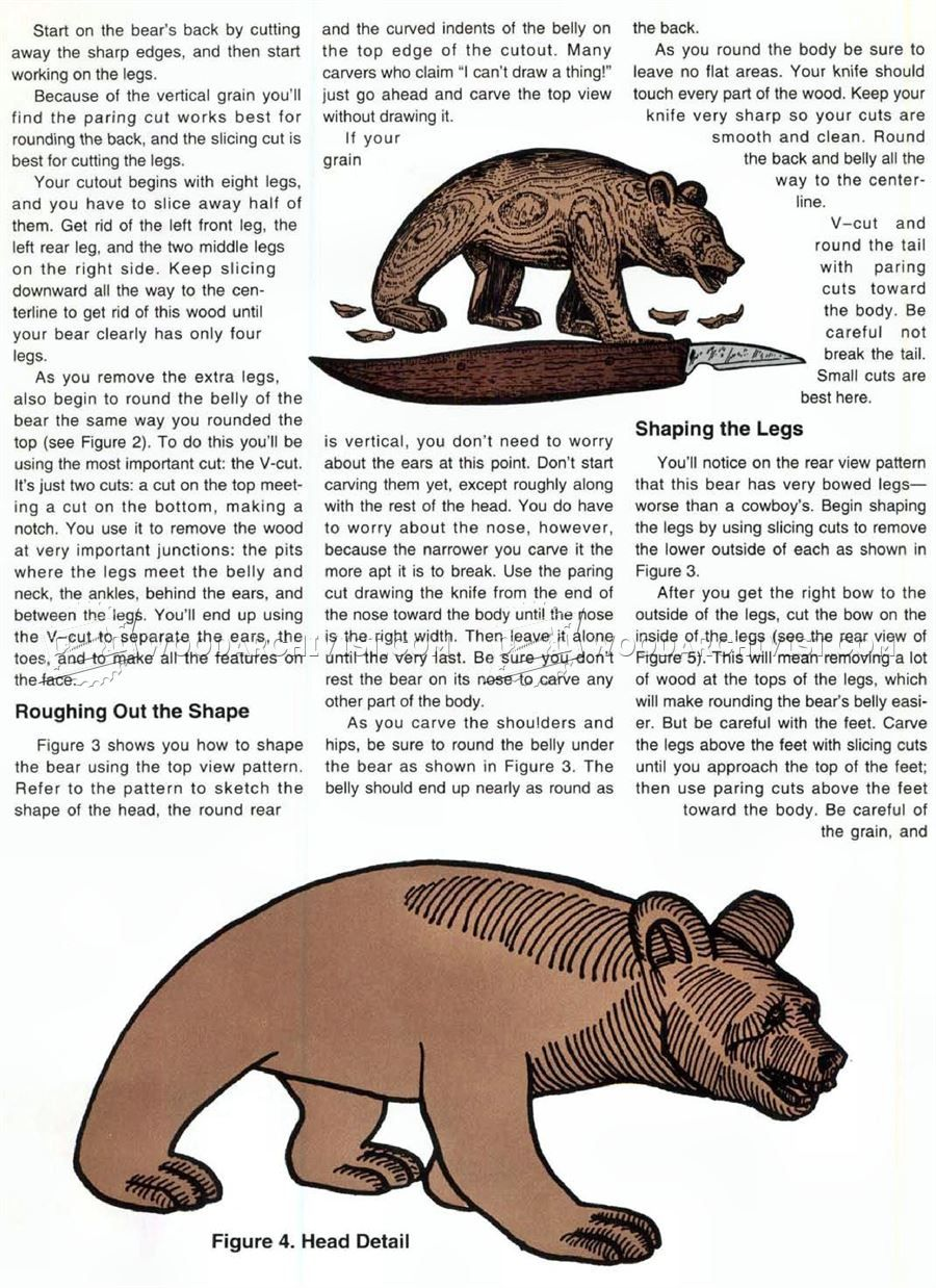 3064 Carving Bear Wood Carving Patterns Wood Carving Wood Carving Patterns Carving Wood Carving