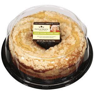 The Bakery At Walmart Paula Deen Baked Goods Sour Cream Pound Cake