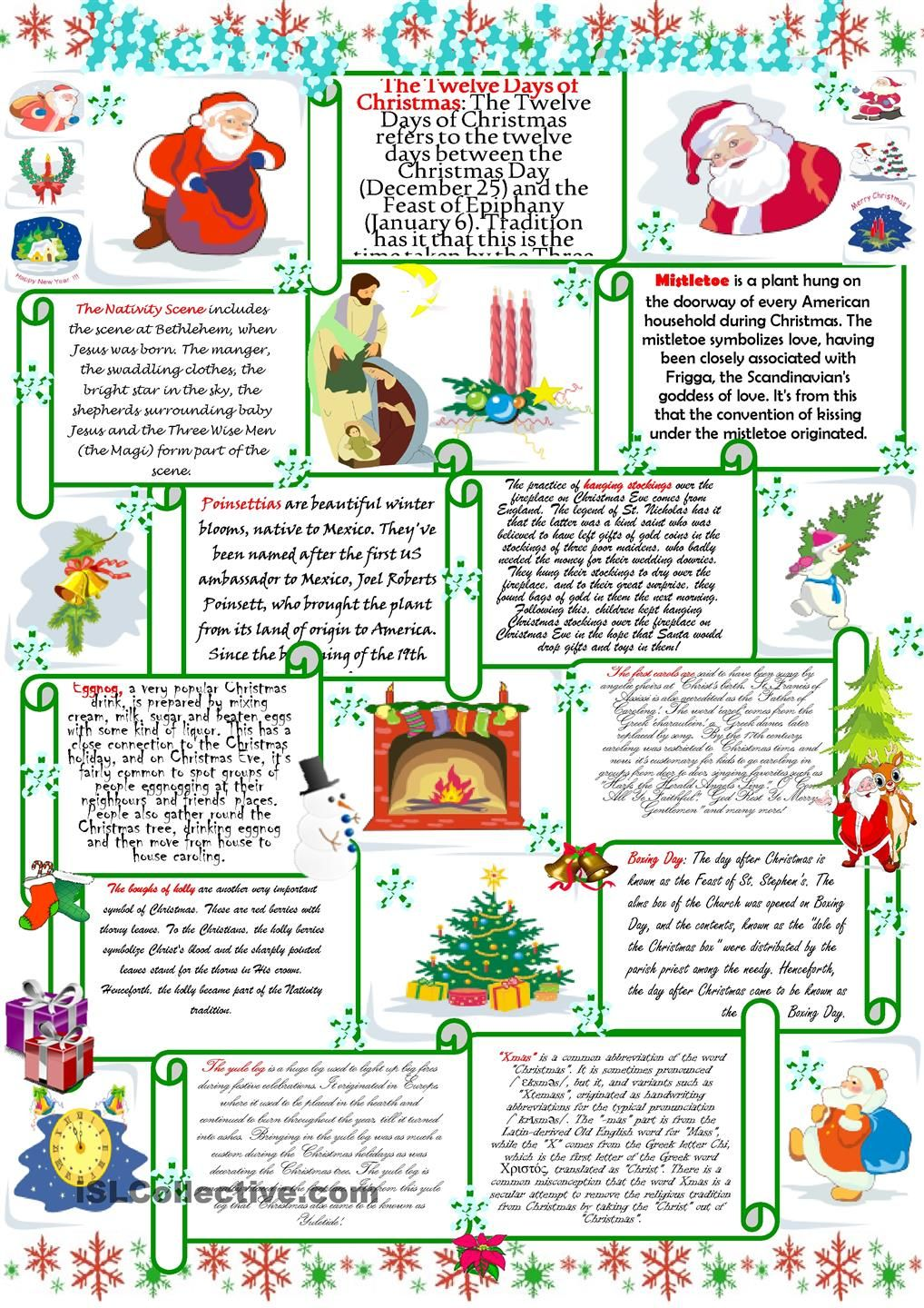 Merry Christmas! | School | Pinterest | Merry, English and Worksheets