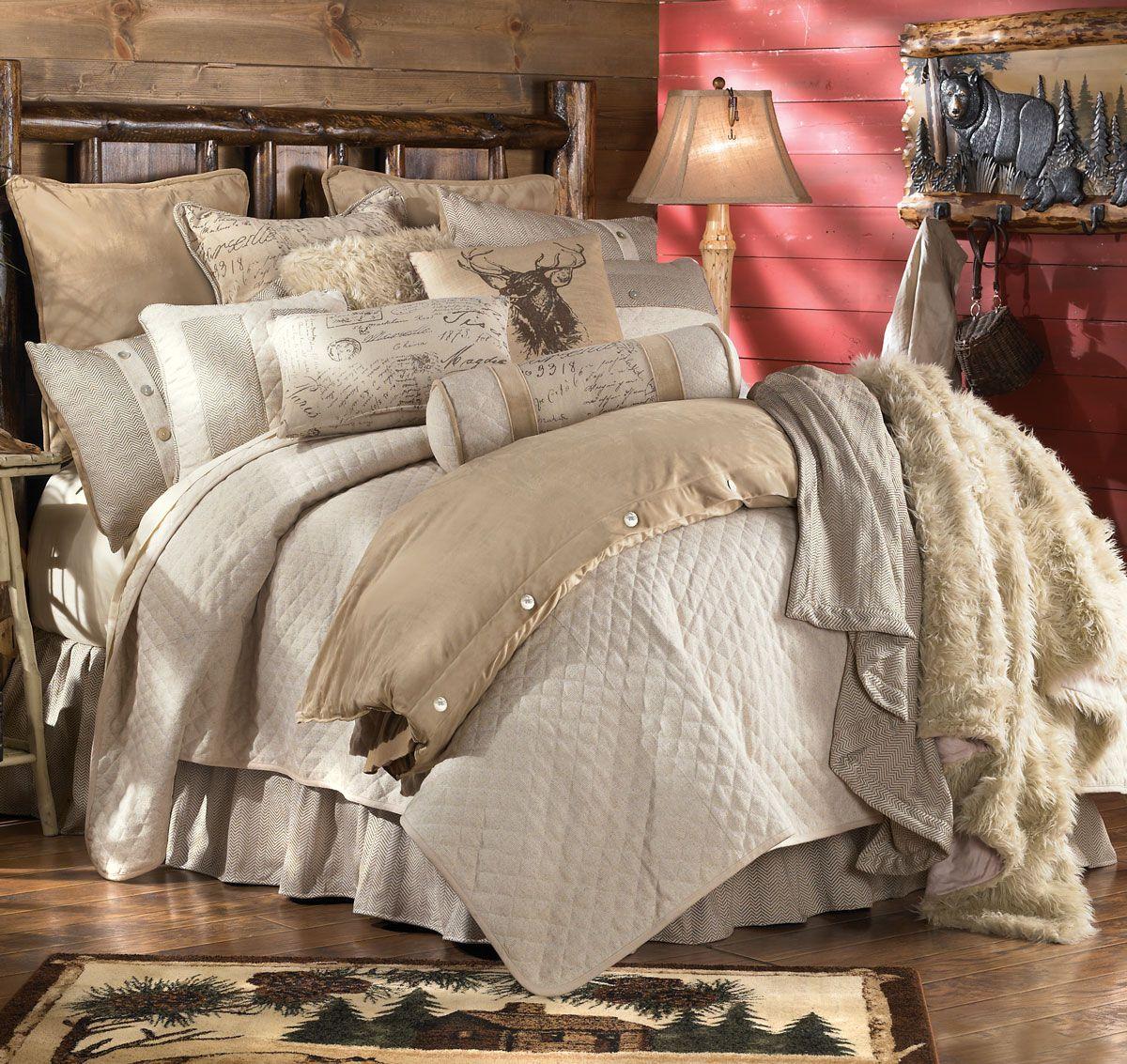 Chestnut Ridge Plaid Bed Set Queen Clearance Luxury Bedding