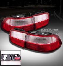 1992 1995 Honda Civic Altezza Tail Lights Red Clear 1993 1994 2 4 Door Lx Ex Dx Honda Civic Civic Honda