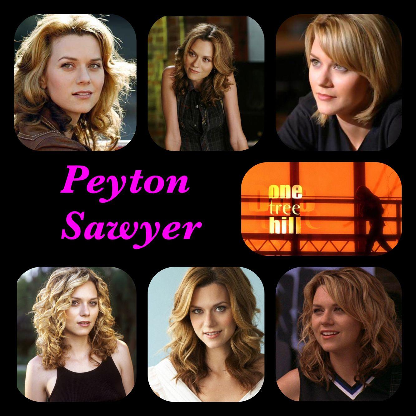 one tree hill alphabet series p--peyton sawyer | one tree