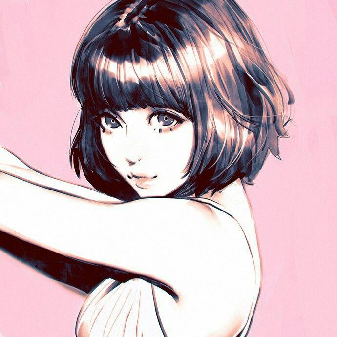 """Résultat de recherche d'images pour """"fille de manga cheveux courts"""""""