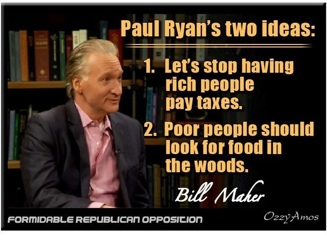 Bill Maher on Paul Ryan