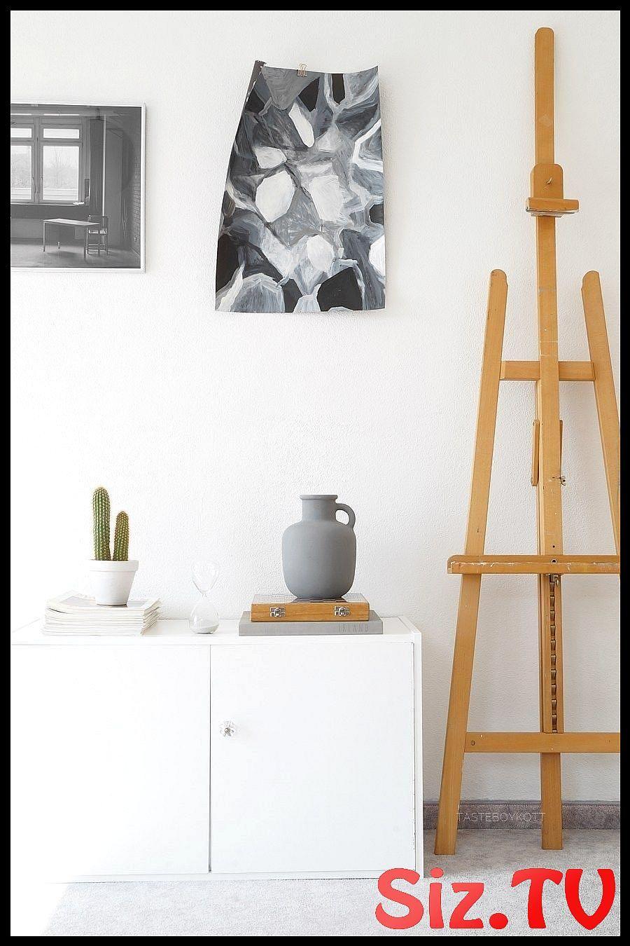 Interior Weiss Grau Holz Schlafzimmer Herbstlich Einrichten With